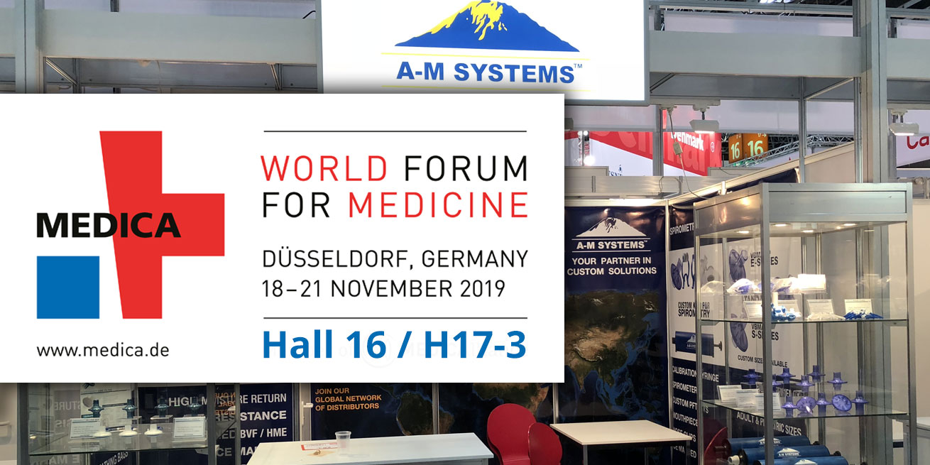 A-M Systems exhibits at Medica 2019 in Germany