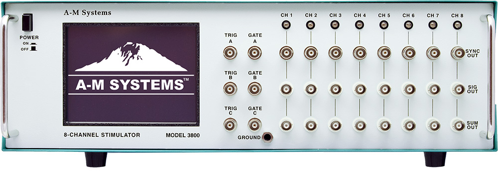 A-M Systems Model 3800: The MultiStim 8-Channel Programmable Stimulator