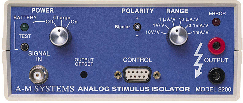 Model 2200 Analog Stimulus Isolator