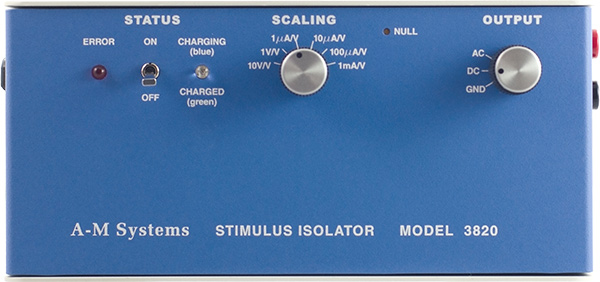 Model 3820 Stimulus Isolation Unit