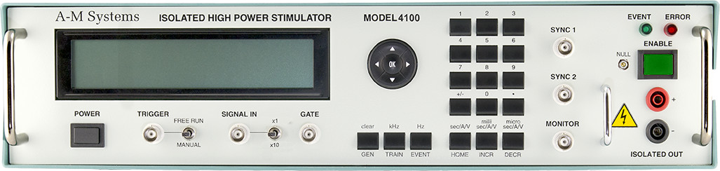 Model 4100 Isolated High Power Stimulator