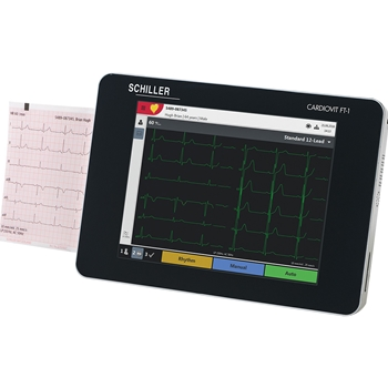 Schiller Cardiovit FT-1 Portable ECG (EKG) Machine